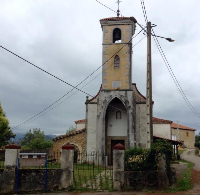 Lloriana, la iglesia