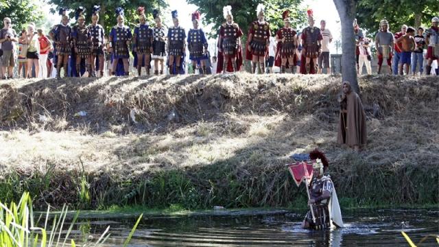Los romanos temían al olvido si cruzaban el río Lethes. Fotografía: Santi M. Amil