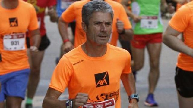 Martín Fiz. La Voz de Galicia (Xoan Carlos Gil)