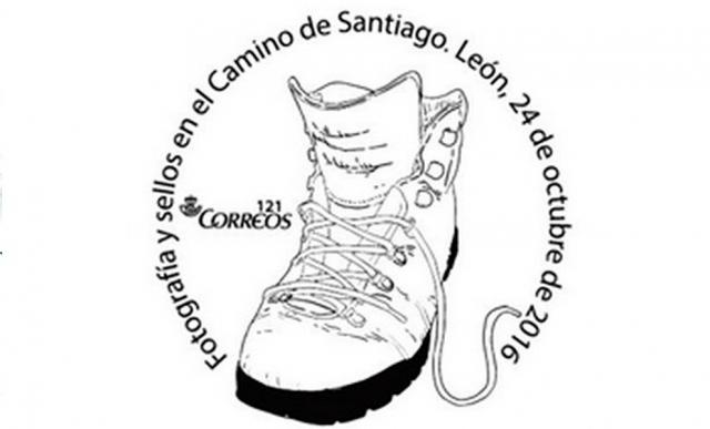 Matasellos 'Fotografías y sellos en el Camino de Santiago'