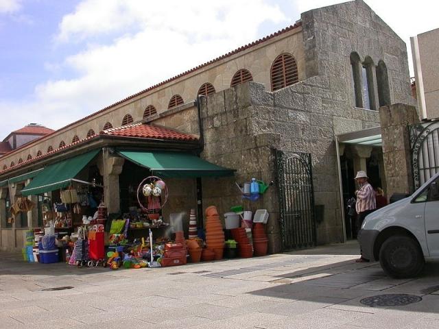 Mercado de Abastos de Santiago de Compostela | Wikimedia Commons