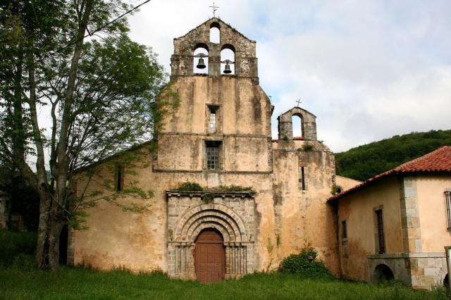 Monasterio de Santa María La Real de Obona - Wikicommons