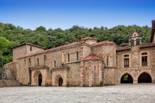 Monasterio de Santo Toribio de Liébana - luisrsphoto/iStock