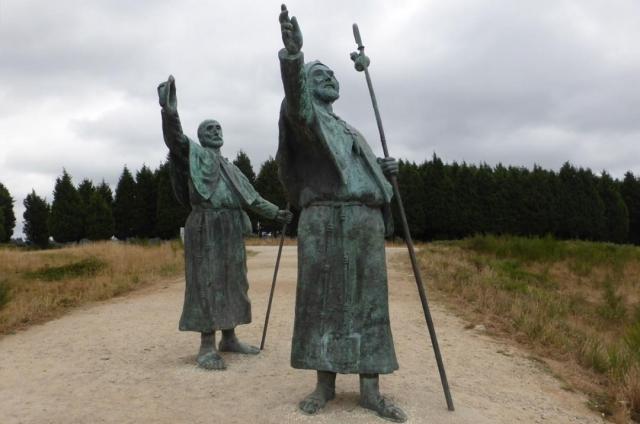 Monumento a los peregrinos