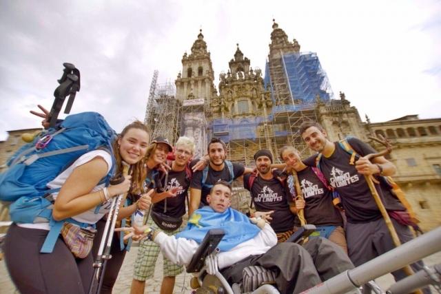 Oliver y Juan Luis alcanzan Santiago de Compostela