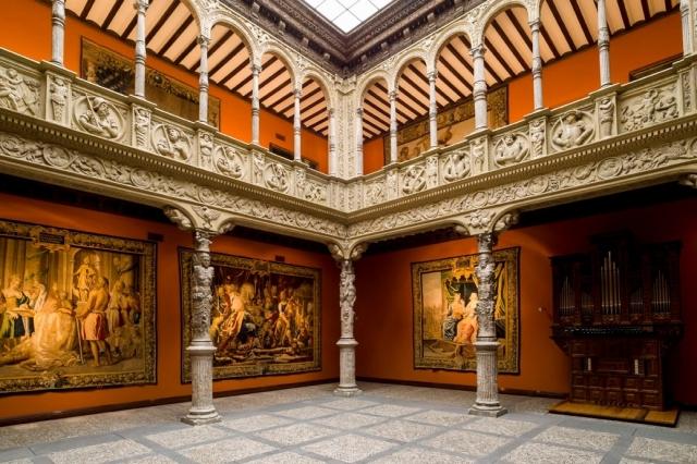 Patio de la Infanta Ibercaja (Zaragoza)