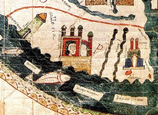Península ibérica en el tiempo de Beato de Liébana - Cossue/Wikimedia