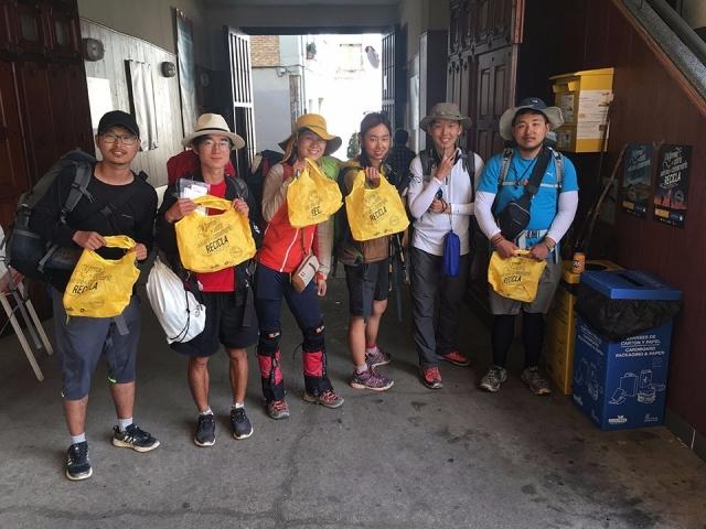 Peregrinos del Camino de Santiago | Ecoembes
