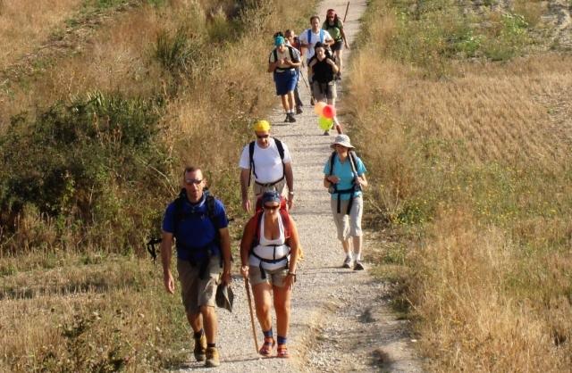 Peregrinos en el Camino de Santiago - PxHere
