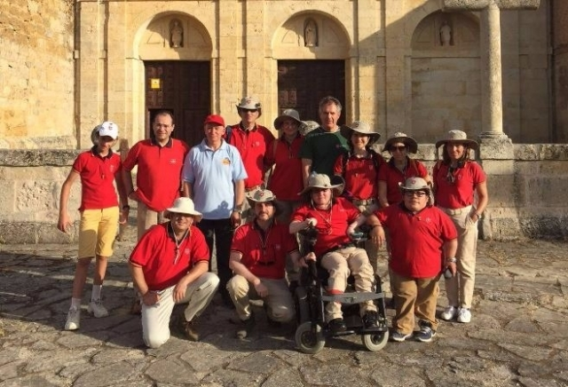 Pilgrims of the Order of Malta