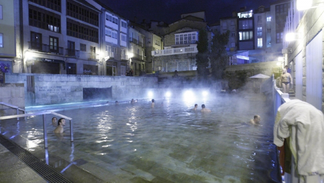 What to see in ourense vivecamino for Piscinas en ourense