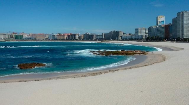 Playa de Riazor | A Coruña