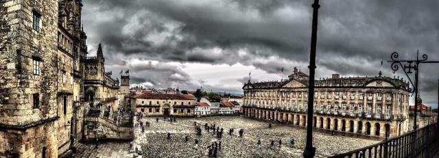 Plaza del Obradoiro. Wikimedia Commons
