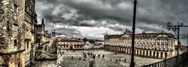 Resultado de imagen de plaza del obradoiro santiago de compostela