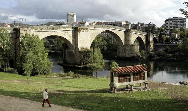 Ponte romana de Ourense / Fotografía de Miguel Villar