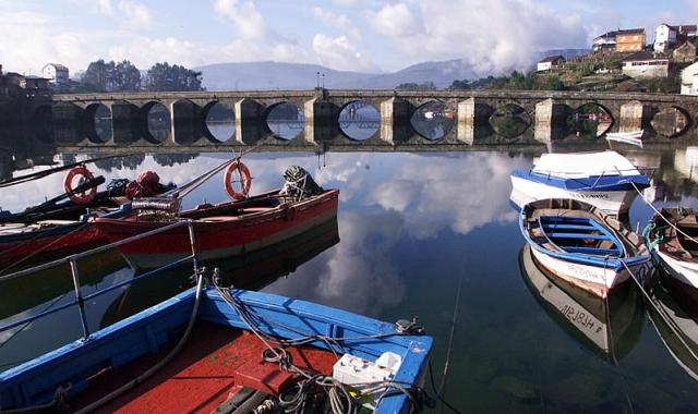 Ponte Sampaio / Fotografía de Xoán Carlos Gil