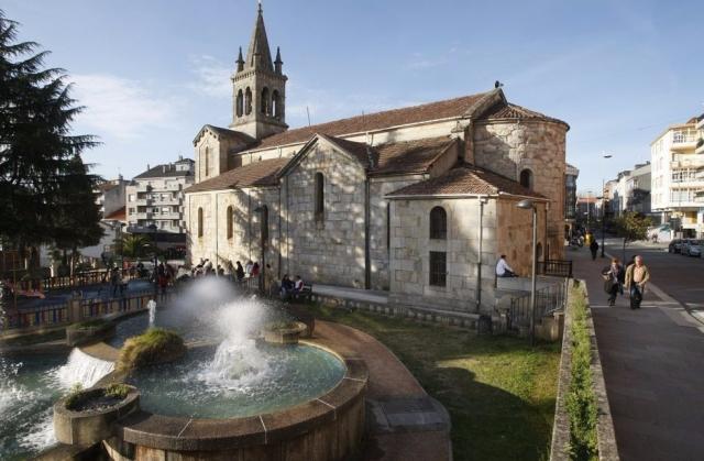 Praza da Igrexa de Lalín