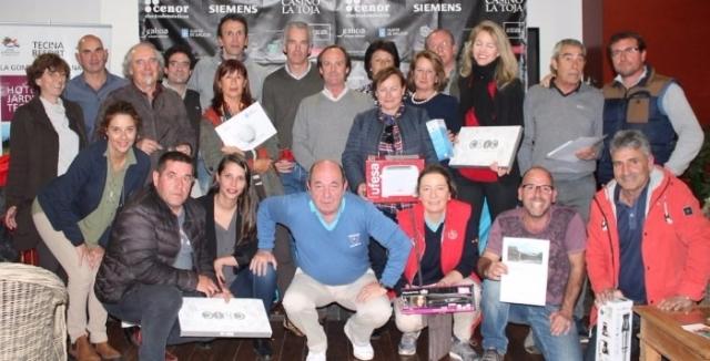 Premiados IX Circuito de golf Cenor - Camino de Santigo