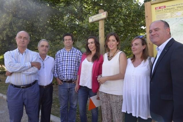 Presentación de la señalización del Camino Mozárabe. Diputación de Málaga