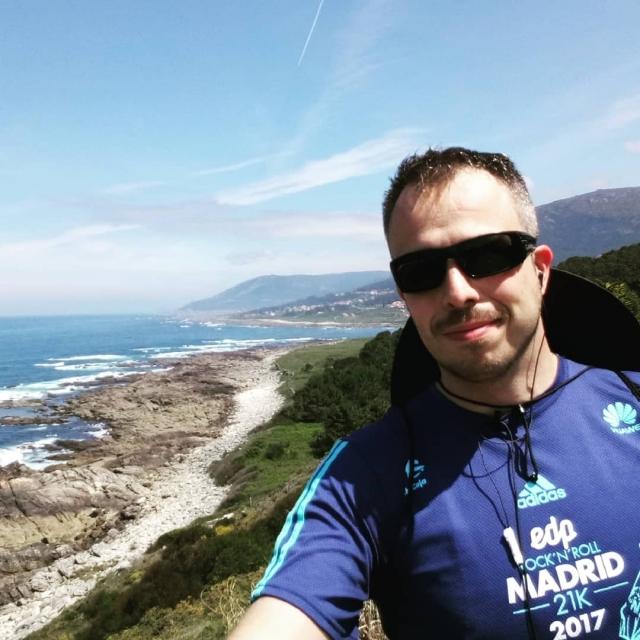 Primer día de camino portugués por la costa. A Guarda - Baiona. 34 kms larguitos. Mañana intentaré llegar a Redondela