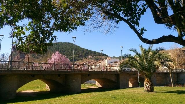 Puente de San Juan Ortega, por donde pasa el Camino de Santiago