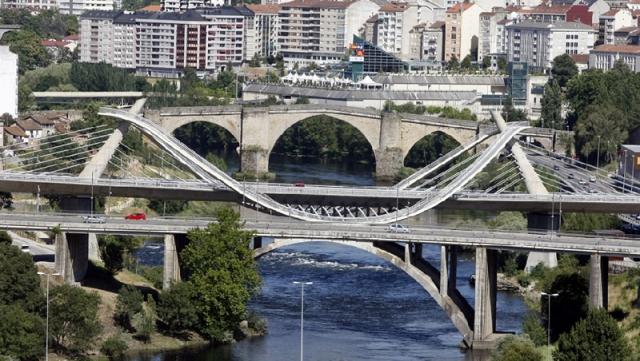 Puente del Milenio y puente Romano. Fotografía: Pili Prol
