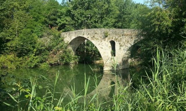 Puente en el Camino de Santiago