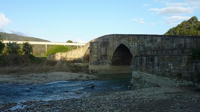 Puente por el que atraviesan los peregrinos antes de su llegada a Lorca
