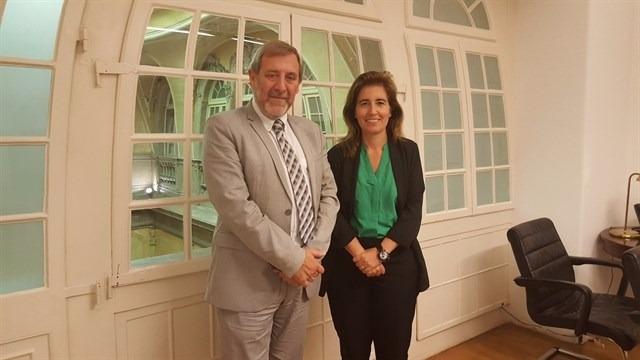 Rafael Sánchez Bargiela y Ana Mendes / Xunta de Galicia
