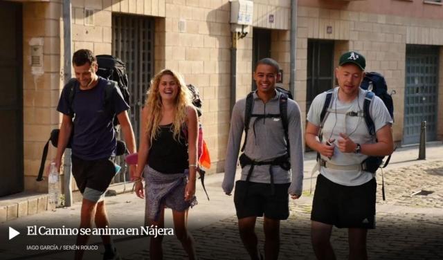 Reportaje Camino de Santiago Logroño-Santo Domingo de la Calzada
