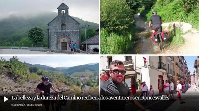 Reportaje Camino de Santiago Roncesvalles - Pamplona