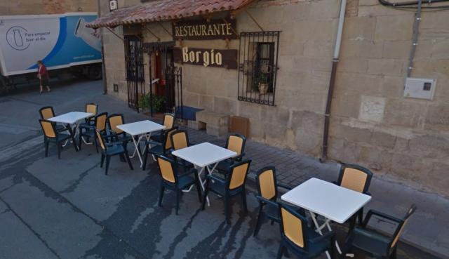 Restaurante Borgia ©Street View