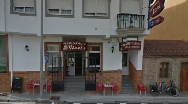 Restaurante-Pensión Playa de Sardiñeiro ©Street View