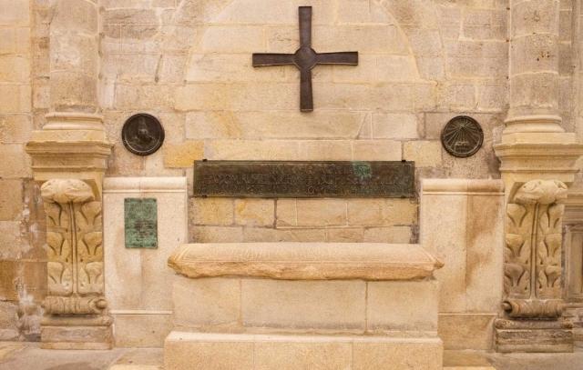 Sepulcro del obispo Teodomiro en la Catedral de Santiago
