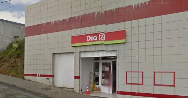 Supermercado en A Fonsagrada ©Street View