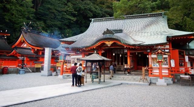 Templo sintoísta en Kumano Kodo