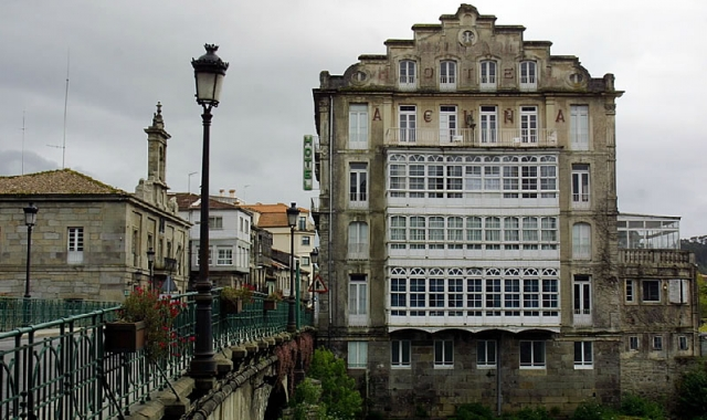 The spa in Caldas/Photograph by Ramón Leiro