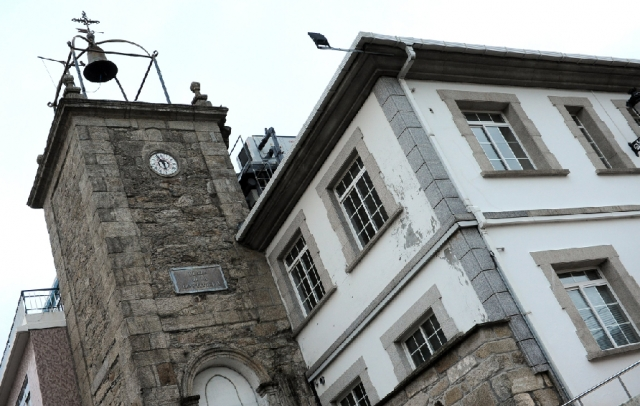 Torre del Reloj, en Neda