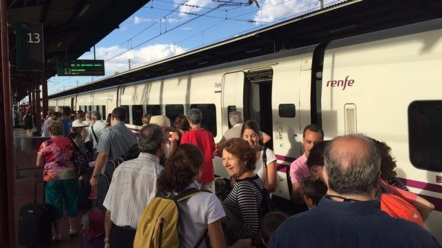 Tren do Peregrino 2015 - P. CALVEIRO