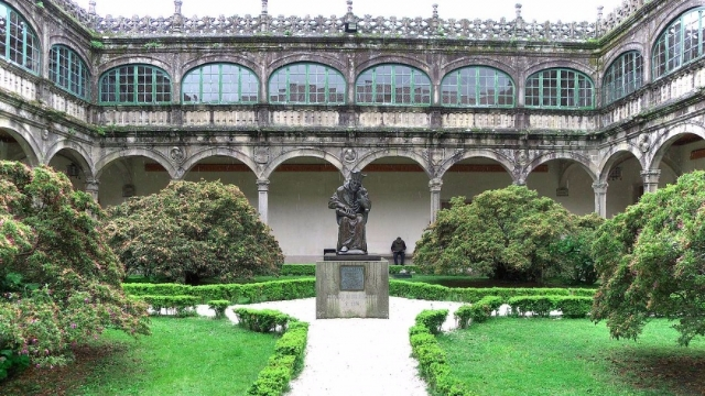 Universidad de Santiago de Compostela. Wikimedia Commons