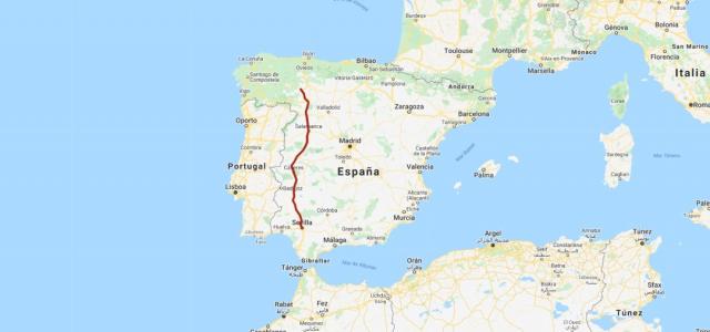 Vía de la Plata - My Maps