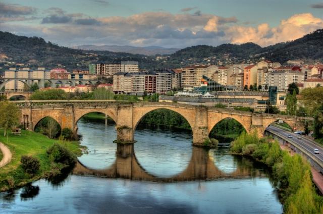 Vista de Ourense
