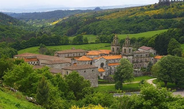 Vista xeral do Monasterio de Oseira / Fotografía de Vítor Mejuto