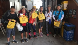 The pilgrims and hospitaleros of the Camino de Santiago are committed to recycling