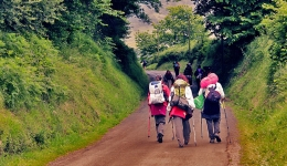 It is expected that the influx on the Camino de Santiago will increase by 5% in Easter