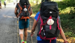 Preparing your backpack for the Camino: The 10% rule