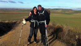 Three months walking to Santiago to fight against breast cancer