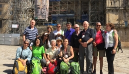 Why do the Camino de Santiago organized?